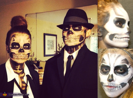 "Halloween Kostüme 2014: ""Skelette"" (c) 2014 costume-works.com / tonight.de"