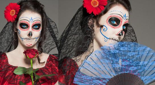 """Halloween Kostüme 2014: """"Dia De Los Muertos"""", (c) 2012 Halloween.de"""