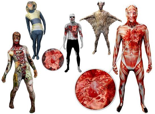 "Halloween Kostüme 2014: ""Morphsuits"", (c) 2014 maskworld.com"