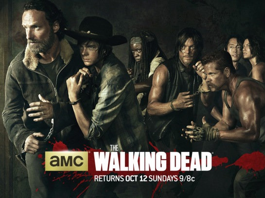 "AMC: ""Walking Dead Staffel 5″ (2014), Wallpaper"