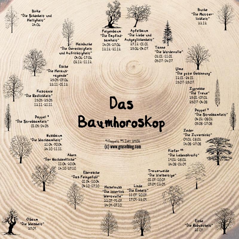 Das Keltische Baumhoroskop: ein mystisches Märchen (3/5)