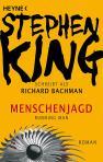 """Richard Bachmann """"Menschenjagd"""" (1982), Buchdeckel"""