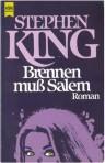 "Stephen King ""Brennen muß Salem"" (1975), Buchdeckel"