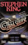 "Stephen King ""Christine"" (1983), Buchdeckel"