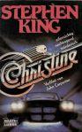 """Stephen King """"Christine"""" (1983), Buchdeckel"""