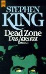 """Stephen King """"Dead Zone. Das Attentat"""" (1979), Buchdeckel"""