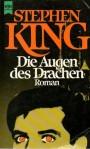 """Stephen King """"Die Augen des Drachen"""" (1987), Buchdeckel"""