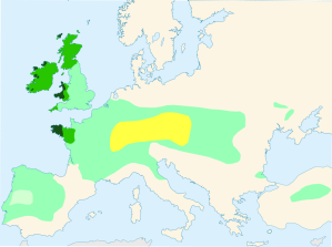 Kelten in Europa, (c) Wikipedia