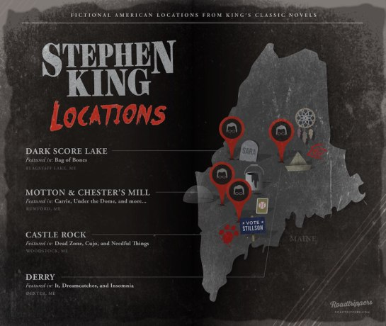 "Roadtrippers ""Stephen King Locations"", (c) roadtrippers.com"