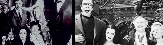 The Addams Family vs. The Munsters, CropTop (c) telegraph.co.uk