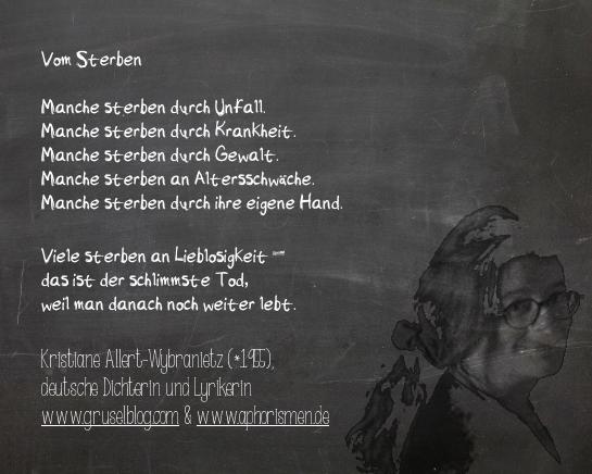 Zitat K. Allert-Wybranietz (20. Jh)