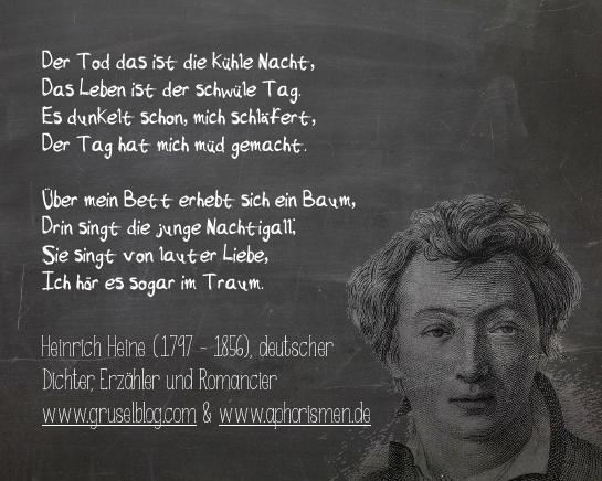 Zitat H. Heine (18./19. Jh)