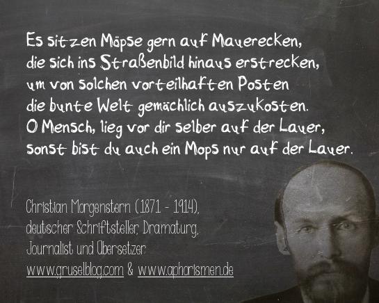 Zitat C. Morgenstern (19./20. Jh)