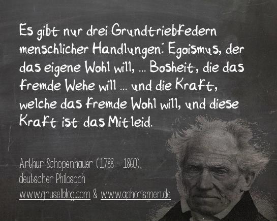 Zitat A. Schopenhauer (18./19. Jh)