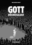 "Marc-Antoine Mathieu ""Gott höchstselbst"" (2009), Buchrücken"