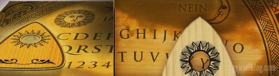 Ouija Brett, CropTop, (c) 2003 Eleonore Jacobi, Ansata Verlag