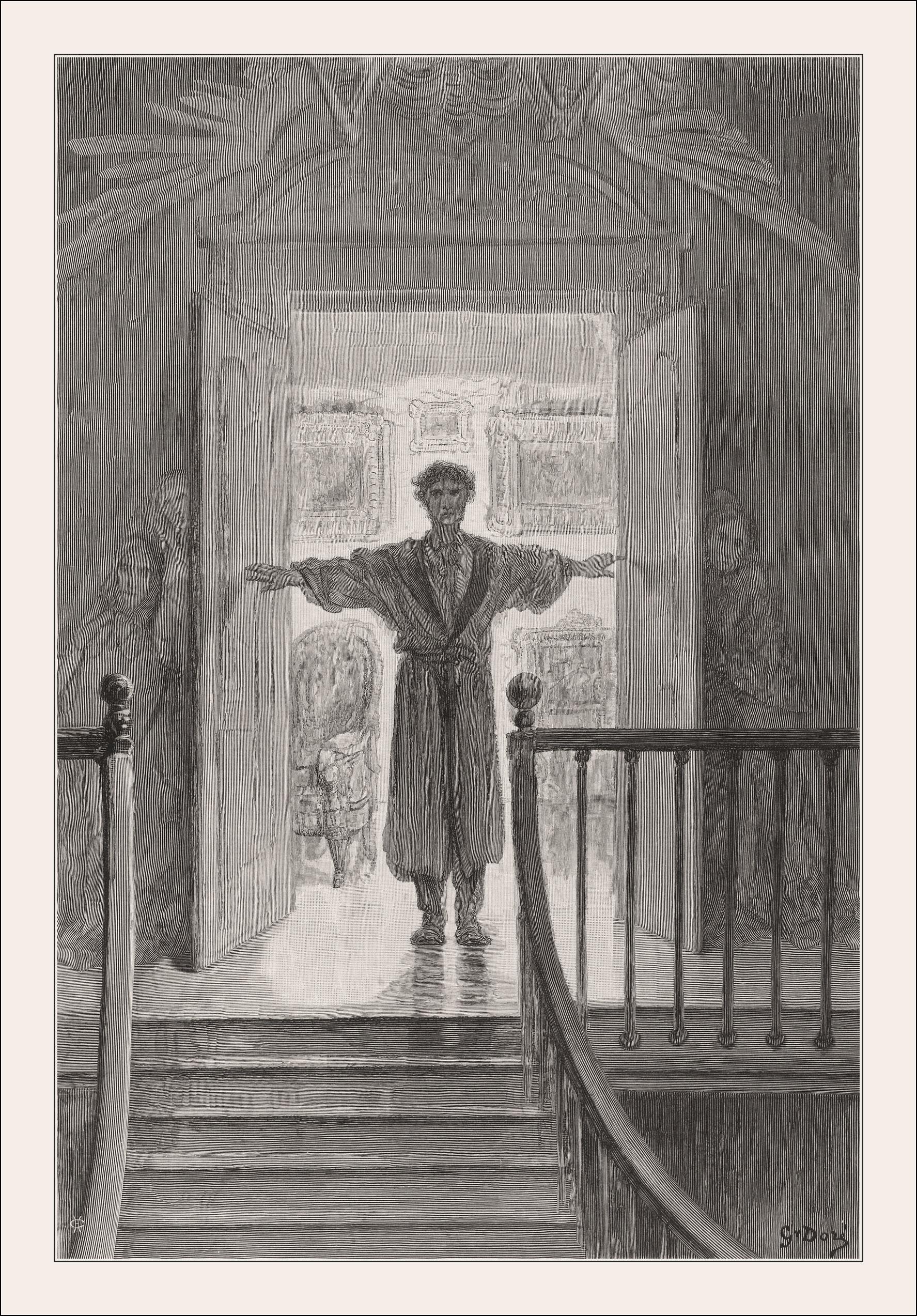 Das Gedicht The Raven Der Rabe Von Edgar Allan Poe