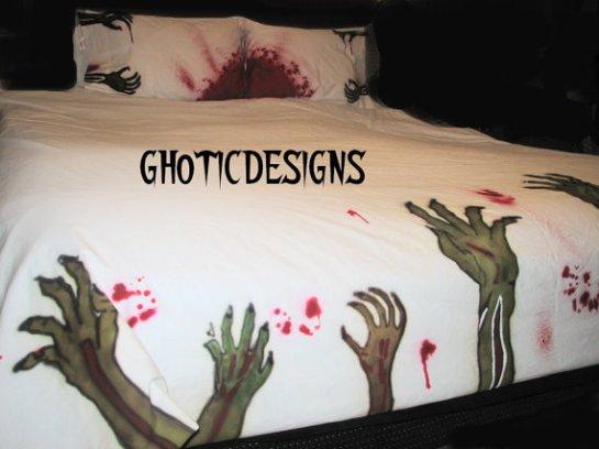 Zombie Bettwäsche, (c) 2014 Gothicdesigns, Abbild1