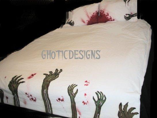 Zombie Bettwäsche, (c) 2014 Gothicdesigns, Abbild2