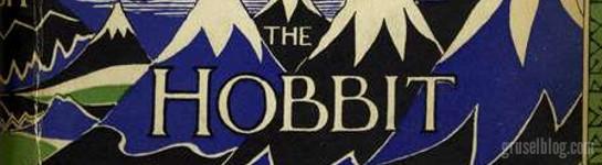 """J. R. R. Tolkien """"Der kleine Hobbit"""" (1937), CropTop"""