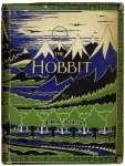 """J. R. R. Tolkien """"Der kleine Hobbit"""" (1937), Buchdeckel"""