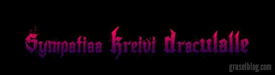 "Sami Hakkarainen ""Sympathy For Count Dracula"" (2014), CropTop"