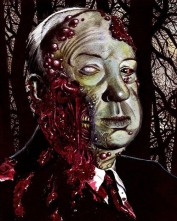 "Famous Zombie ""Alfred Hitchcock"", (c) roflrazzi.cheezburger.com"