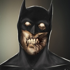 """Famous Zombie Comic """"Batman"""", (c) www.gadgetfeast.com"""
