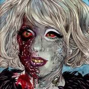 "Famous Zombie ""Lady Gaga"", (c) roflrazzi.cheezburger.com"