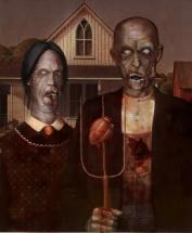 """Famous Zombie """"Grant Wood"""", (c) survivingthedead.wordpress.com"""