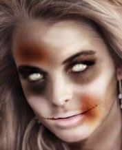 "Famous Zombie ""Linsay Lohan"", (c) blog.mrcostumes.com"