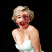 """Famous Zombie """"Marilyn Monroe"""", (c) www.fark.com"""