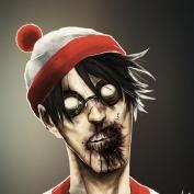 """Famous Zombie Comic """"Ryu"""", (c) www.gadgetfeast.com"""