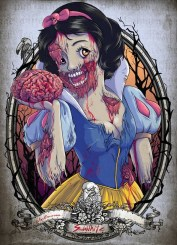 """Famous Zombie """"Snowwhite"""", (c) www.wackyowl.com"""