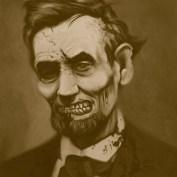 """Famous Zombie """"US President"""", (c) www.wackyowl.com"""