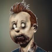 """Famous Zombie Comic """"Waldo"""", (c) www.gadgetfeast.com"""