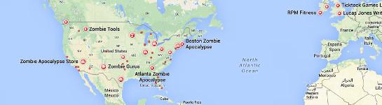 Die Zombie-Apokalypse findet eindeutig in den USA statt | gruselblog.com