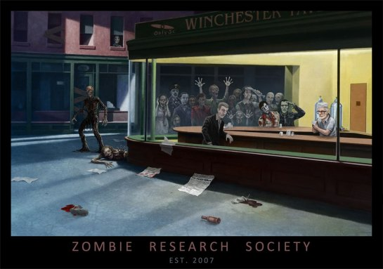 "Site ""Zombie Research Society"", Poster (c) 2015 http://zombieresearch.org"