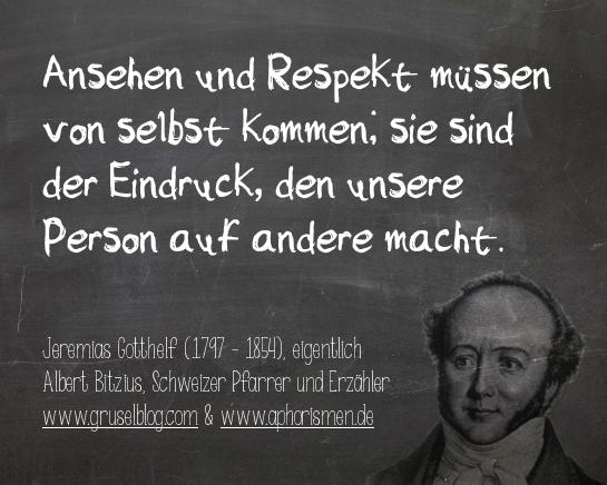 Zitat J. Gotthelf (18./19. Jh)