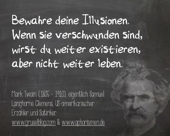 Zitat M. Twain (19./20. Jh)