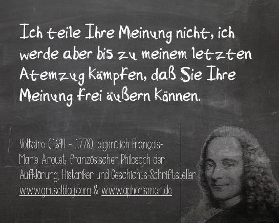 Zitat Voltaire (17./18. Jh)
